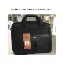 EV-0864 Cakard Evrak Ve Notebook Çanta