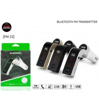 FM-22 Subzero Bluetooth Fm Transmitter
