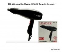 FM-34 Leader Fön Makinesi 2500W Turbo Performans