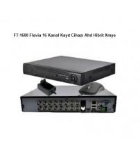 FT-1600 Flavia 16 Kanal Kayıt Cihazı Ahd Hibrit Xmye