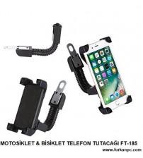FT-185 Telefon Tutacağı ( Motosiklet İçin )