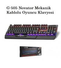 G-505 Novator Mekanik Kablolu Klavye Oyuncu