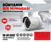 GN-AB-16DOT Goldnet 2MP 1080P 4İN1 Kamera Bullet
