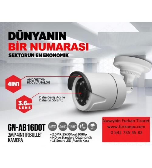 GN-AB-16DOT Goldnet 2MP 1080P 4İN1 Kamera Bullet