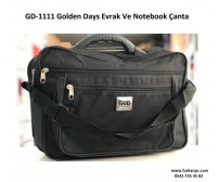 Golden Days Evrak Ve Notebook Çanta