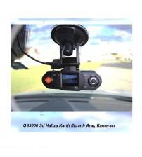 GS3000 Ekranlı Araç İçi Kamerası