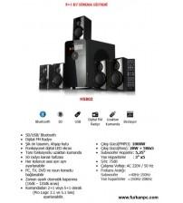 H-5802 Leader Bluetooth 5+1 Ses Sistemi