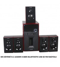 H-6805 Leader Bluetooth 5+1 Ses Sistemi