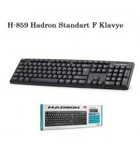 H-859 Hadron Standart F Klavye