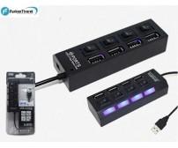 HADRON HD-102 ANAHTARLI 4 PORT USB ÇOKLAYICI