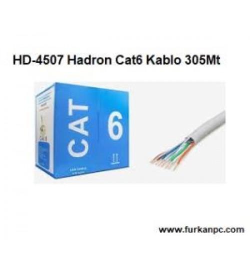 HD-4507 Hadron Cat6 Kablo 305Mt 0.511mm OD6.0 24AWG