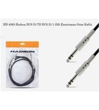 HD-4565 Hadron DC6.35 TO DC6.35 1.5Mt Enstrüman Gitar Kablo
