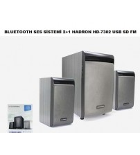 HD-7302 Hadron Bluetooth 2+1 Ses Sistemi