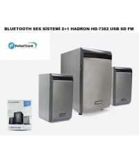 HD-7302 Hadron Bluetooth 2+1 Ses Sistemi