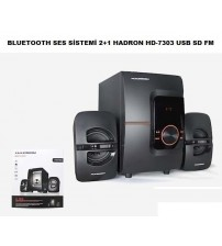 HD-7303 Hadron Bluetooth 2+1 Ses Sistemi