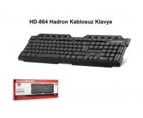 HD-864 Hadron Kablosuz Klavye