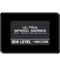 "HI-LEVEL Ultra 2.5"" 480GB SSD SATA3 550/530 HLV-SSD30ULT/480G"
