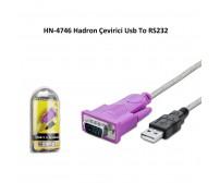 HN-4746 Hadron Çevirici Usb To RS232