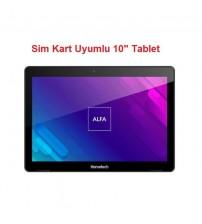 Hometech Alfa 10MA 2GB 16GB 1280X800 Sim Kartlı Pc Tablet