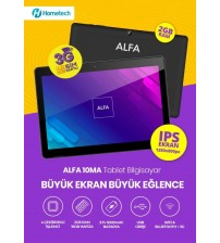 Hometech Alfa 10MA 2GB 16GB 1280X800 Sim Kartlı Tablet Pc