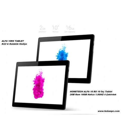 "Hometech Alfa 10RX 10"" İps Ekran Pc Tablet 2GB 16GB 1.5Ghz"