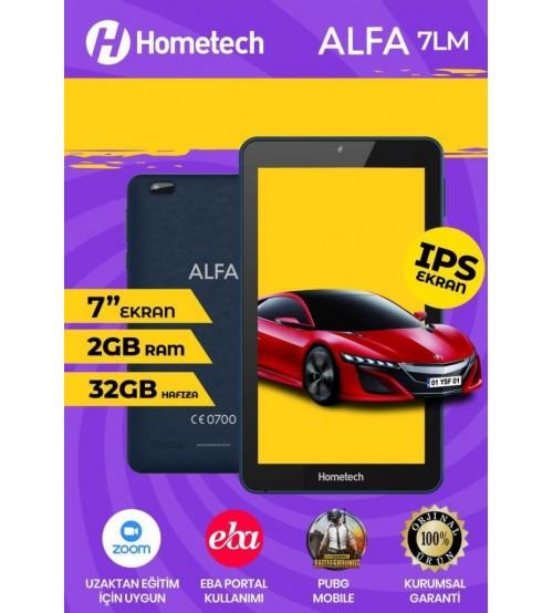 "Hometech Alfa 7LM 7"" Pc Tablet 2GB 32GB 4 Çekirdek İps"