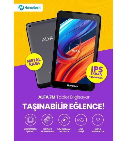 Hometech Alfa 7M 7 İnç Tablet 1GB 16GB