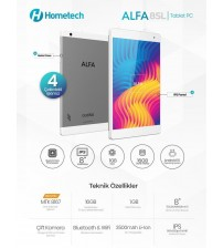 Hometech Alfa Pc Tablet 8 İnç 8SL 1GB 16 GB Hafıza