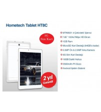 Hometech HT 8C 1GB 16GB 8 inç Sim Kartlı Tablet Pc