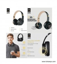 HP-6 Link Tech Bluetooth Kablosuz Kulaklık Büyük Boy