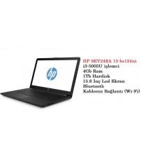 HP Laptop 15-BS124NT 9EY24EA Intel Core i3-5005U 4GB Ram 1TB