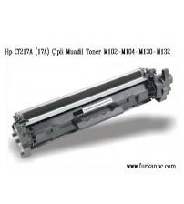 CF217A M130A M104 M132 M102A HP Muadil Toner Çipli