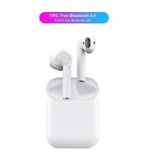 İ12 Bluetooth Kablosuz Kulaklık Çiftli Şarjlı
