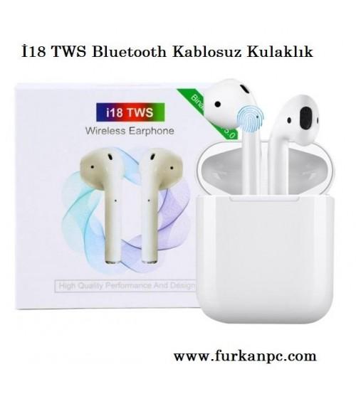 İ18 TWS Bluetooth Kablosuz Kulaklık