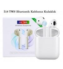 İ18 TWS Bt Kablosuz Kulaklık Touch