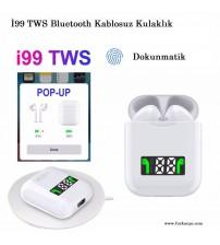 İ99 TWS Bluetooth Kablosuz Kulaklık Çiftli Şarjlı