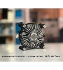 İNTEL 775 İŞLEMCİ FANI HADRON HD-2533