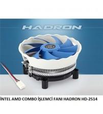 İNTEL AMD COMBO İŞLEMCİ FANI HADRON HD-2514