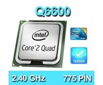 İntel® Core 2 Quad Q6600 2.40Ghz 775 Pin Masaüstü İşlemci
