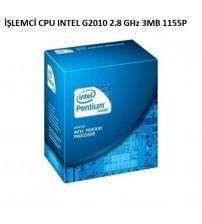İŞLEMCİ İNTEL G2010 2.8 GHz 3MB 1155P