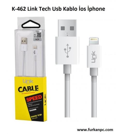 K-462 Link Tech Usb Kablo İos İphone
