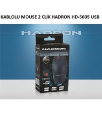 HD-5605 Hadron Kablolu Mouse 2 Click