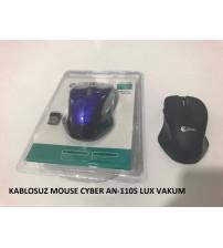 KABLOSUZ MOUSE CYBER AN-1105 LUX VAKUM