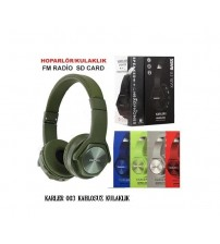 KARLER 003 Bt Kablosuz Kulaklık