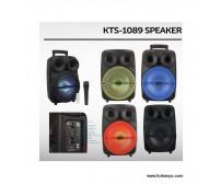KTS-1089C Bluetooth Speaker Kumandalı Mikrofon Hediyeli