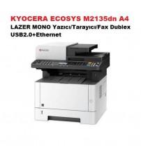 KYOCERA ECOSYS M2135dn A4 LAZER MONO Yazıcı/Tarayıcı/Fax Dublex USB2.0