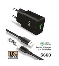 LCH-S660 Link Tech Şarj Aleti Micro 2.10 Amper