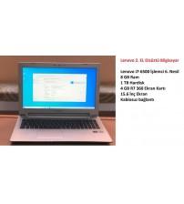 Lenovo 2. EL Laptop İ7-6500 8GB 1TB 4GB R7-360 Vga 15.6