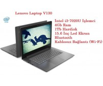 Lenovo Laptop V130 Intel Core i3 7020U 4GB 1TB Freedos 15.6