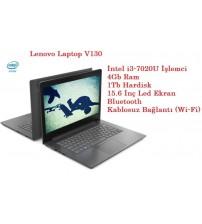 Lenovo Laptop V130 Intel Core i3 7020U 4GB 1TB Freedos 15.6